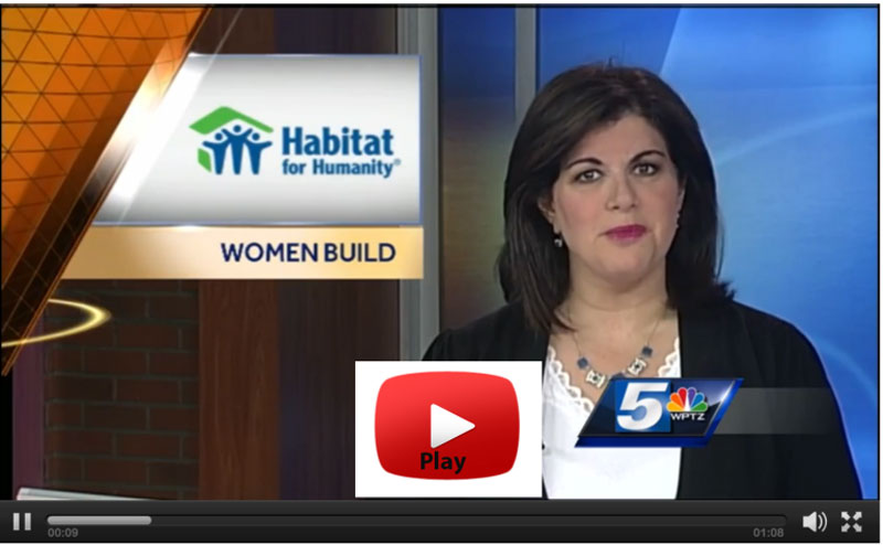 Visit our News area to read recent newspaper articles and view recent TV news stories about Green Mountain Habitat for Humanity and the families we serve.
