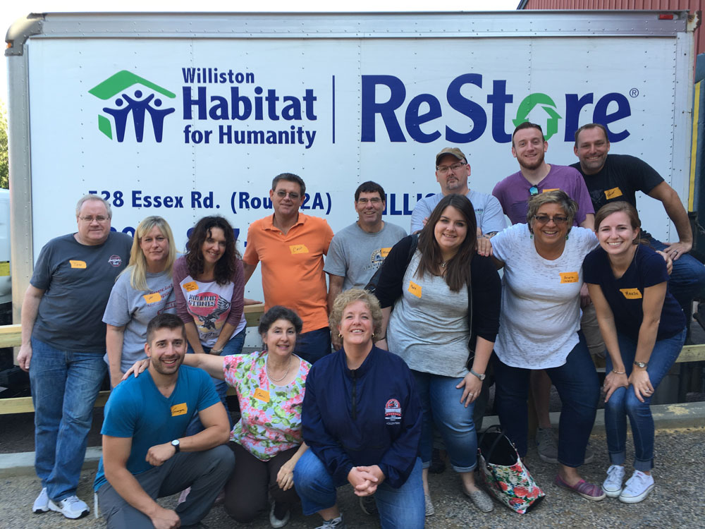 Volunteers are the heart of Green Mountain Habitat for Humanity. We are always looking for both individual and group volunteers to work at the ReStore, to build Habitat homes, or to serve on our supporting committees.