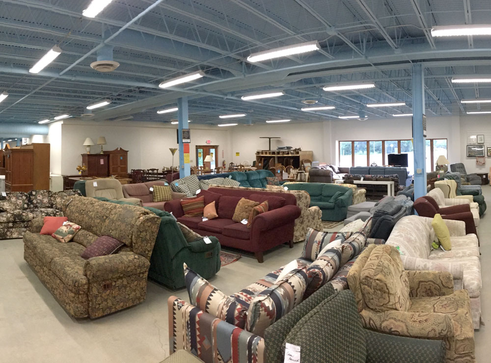 The Green Mountain Habitat for Humanity ReStore - Buy household goods here, or donate your gently used items to help build Habitat homes in Chittenden County.