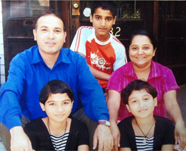The Regmi Family, a Green Mountain Habitat for Humanity family